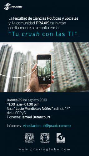 Ismael Betancourt - Conferencia Tu Crush con las TI