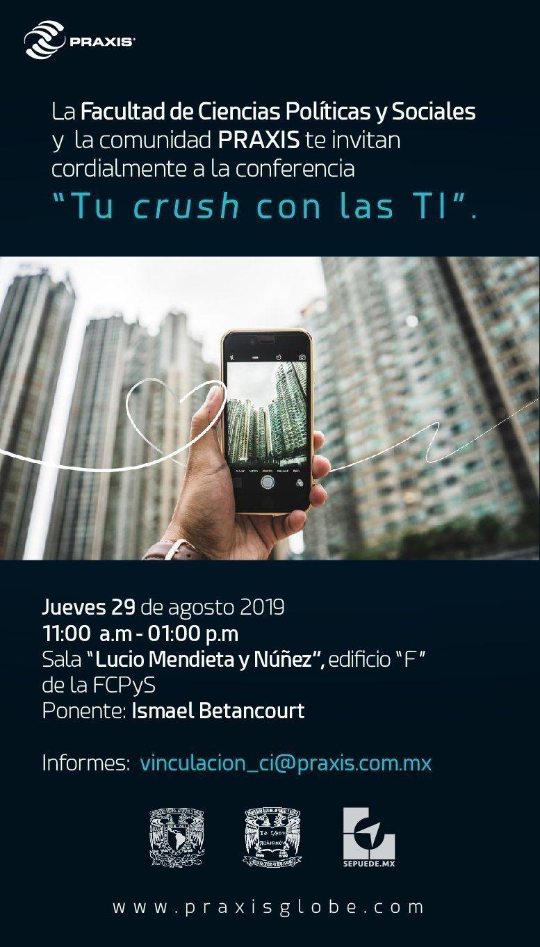 Conferencia Tu Crush con las TI